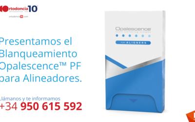 Presentamos el nuevo Blanqueamiento Opalescence™ PF para alineadores de ortodoncia
